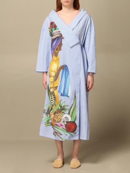 Stella Jean: Dress women Stella Jean