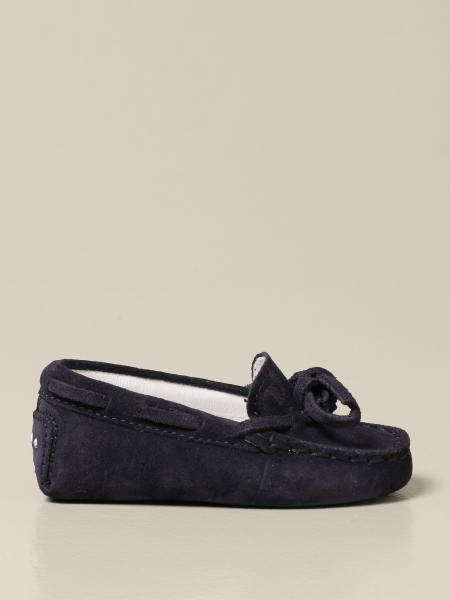 Tod's Drive moccasins in suede with pebbles
