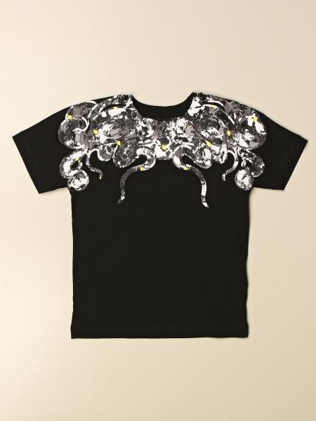 T-shirt Marcelo Burlon in cotone con spire di serpenti