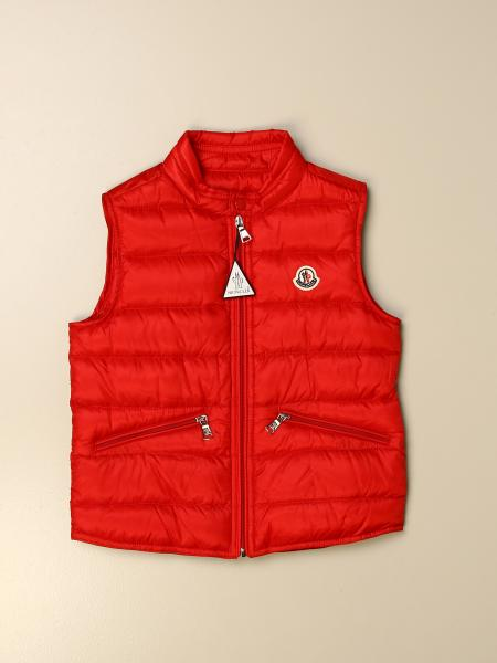 Moncler: Gui Moncler vest down jacket in padded nylon