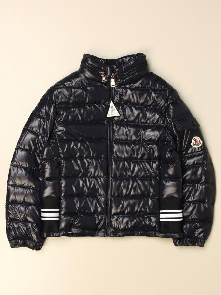 Moncler: Anatolios Moncler down jacket in padded and shiny nylon