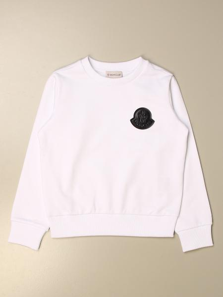 Moncler: Moncler crewneck sweatshirt in cotton
