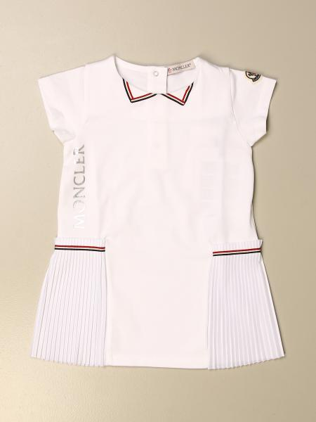 Moncler: Moncler short dress in cotton