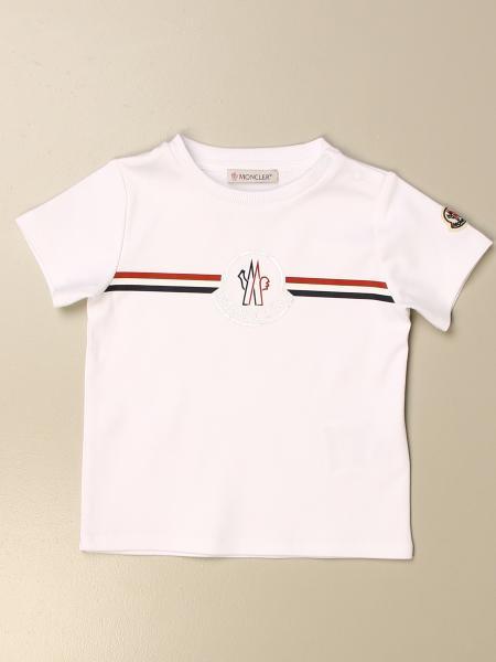 Moncler: T-shirt Moncler in cotone con logo