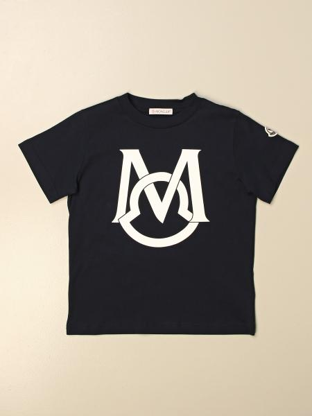 Moncler: Moncler cotton t-shirt with logo