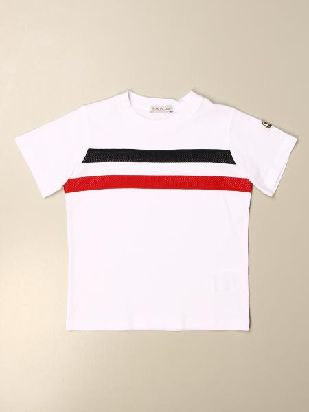Moncler: Moncler T-shirt with band and logo