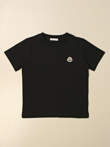 Moncler: Moncler basic t-shirt with logo