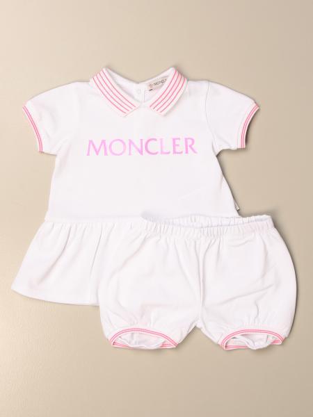 Abito Moncler in cotone con culotte