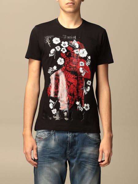 Paciotti 4Us: T-shirt Paciotti 4US in cotone con big stampa