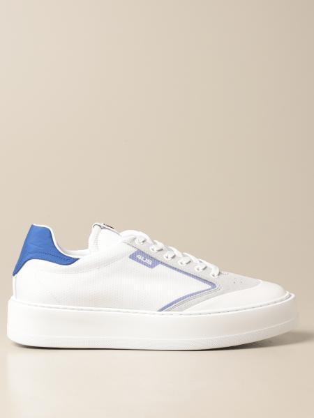 Sneakers Paciotti 4US in nylon e camoscio