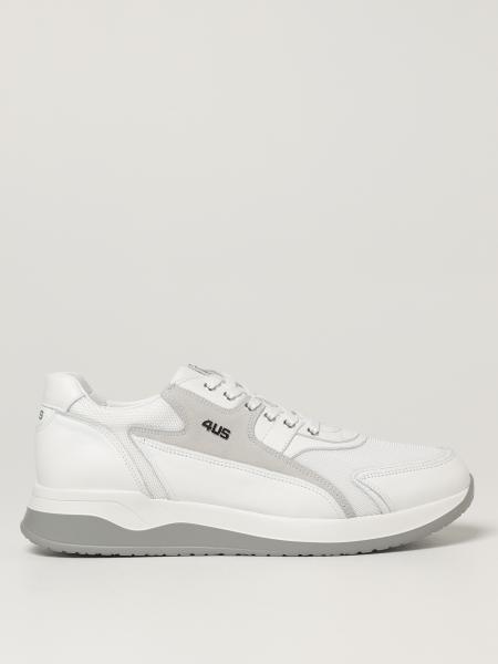 Sneakers Paciotti 4US in pelle e mesh