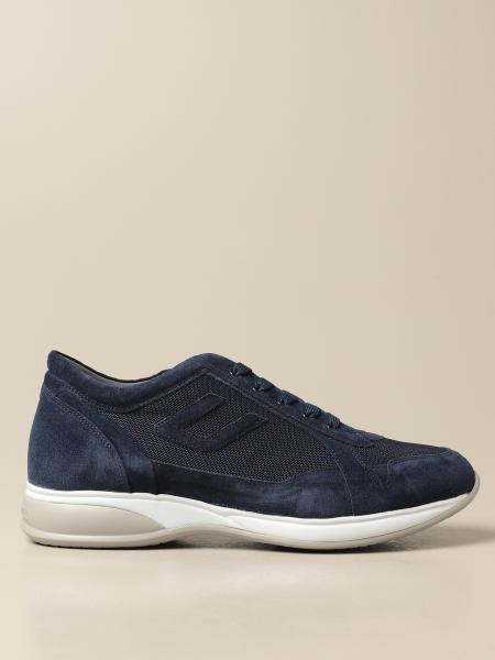 Sneakers Paciotti 4US in camoscio e mesh