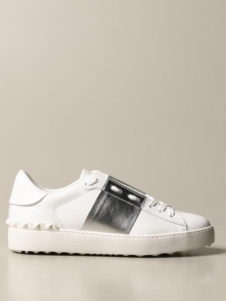 Valentino Garavani Open sneakers in leather with studs