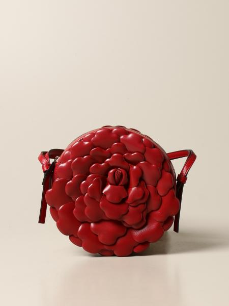 Valentino Garavani: Valentino Garavani Atelier Bag 03 Rose Edition bag in nappa leather