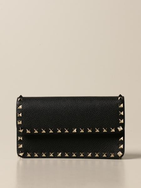 Valentino Garavani: Valentino Garavani Rockstud bag in grained leather