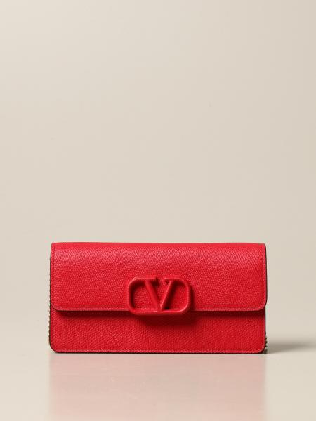 Valentino Garavani: Valentino Garavani VSling bag in grained leather