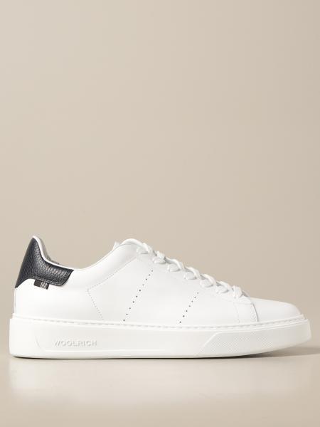 Sneakers Woolrich in vera pelle