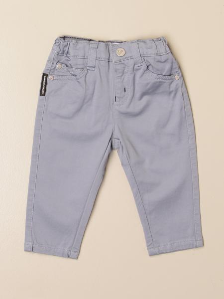 Emporio Armani trousers in stretch cotton
