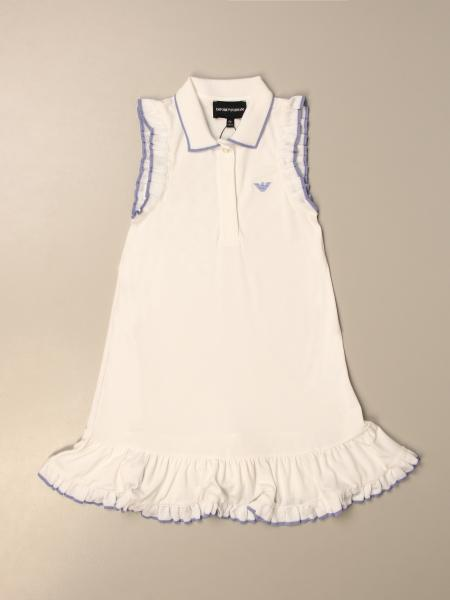 Emporio Armani polo dress with logo