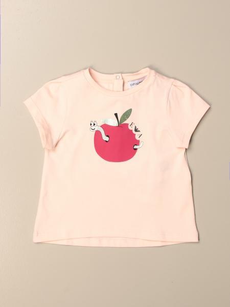 T-shirt Emporio Armani con stampa mela