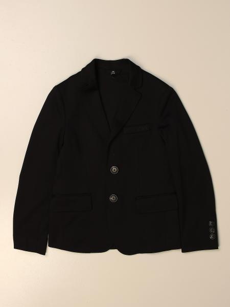 Giacca a monopetto Emporio Armani in jersey