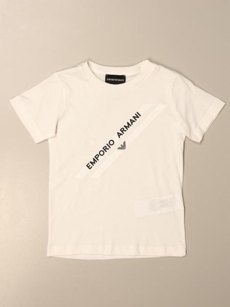 T-shirt Emporio Armani in cotone con stampa logo