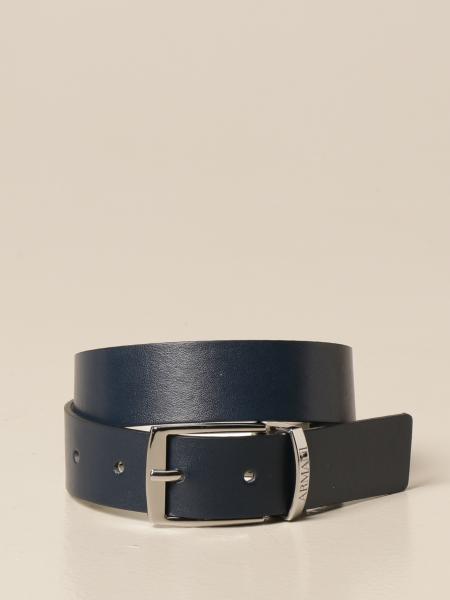 Emporio Armani belt in reversible leather