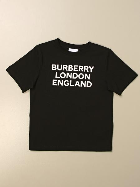 Burberry kids: Burberry cotton t-shirt with logo