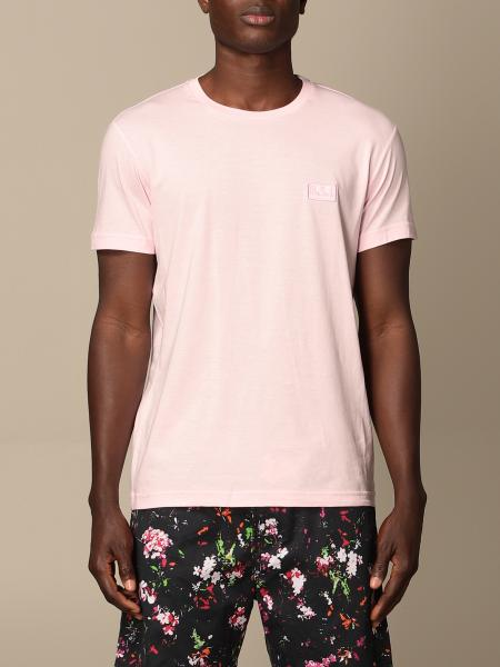 Diesel t-shirt in stretch cotton with logo