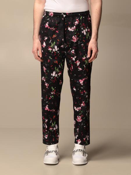 Diesel pants in floral cotton