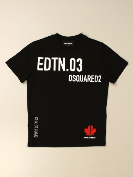 Dsquared2 Junior T-shirt in cotton with big prints