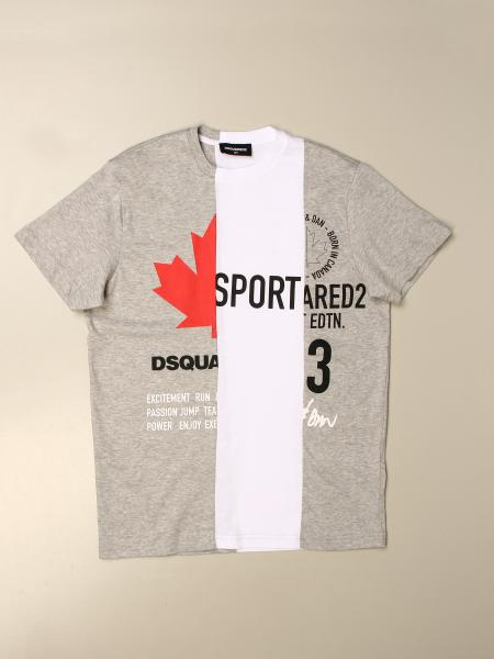 Dsquared2 Junior kids: Dsquared2 Junior T-shirt in cotton with logo