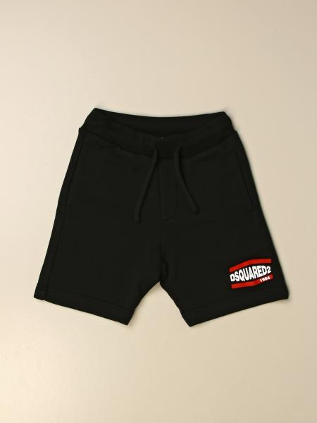 Pantaloncino jogging Dsquared2 Junior con logo