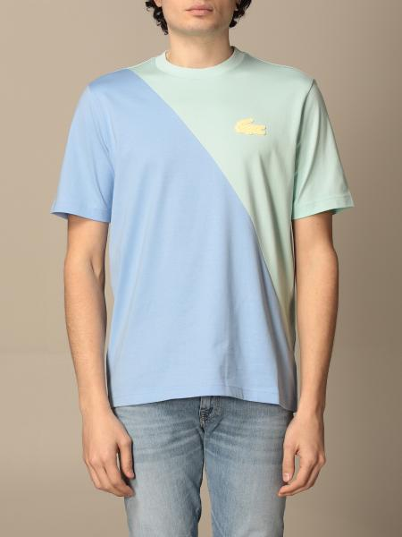 Lacoste L!Ve: T-shirt Lacoste L!ve in cotone con mini logo