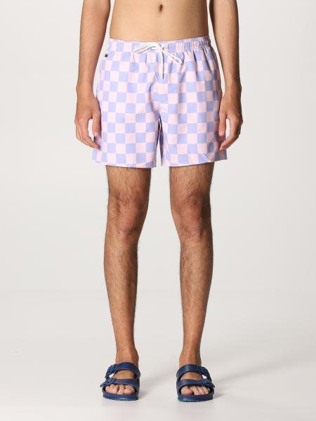 Lacoste L!Ve: Lacoste L! Ve checkered boxer swimsuit