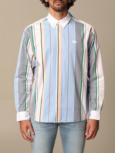 Lacoste L!Ve: Camicia Lacoste L!ve in popeline a righe