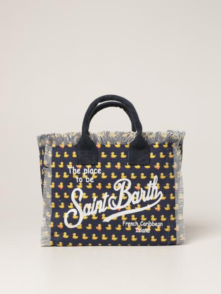 Collette shopping bag MC2 Saint Barth in canvas