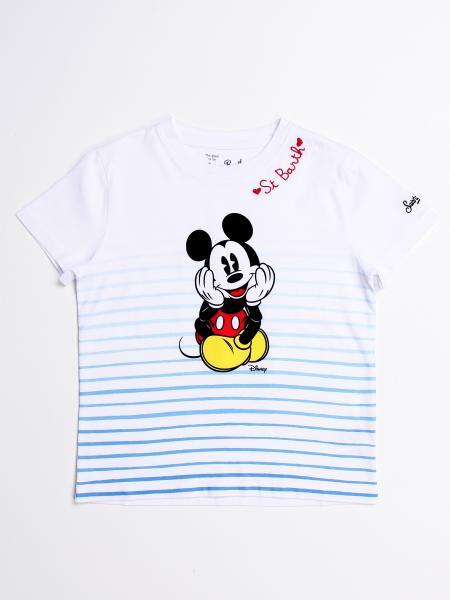 T-shirt MC2 Saint Barth con stampa Topolino