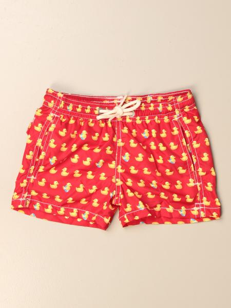 MC2 Saint Barth swim shorts in nylon with duck pattern