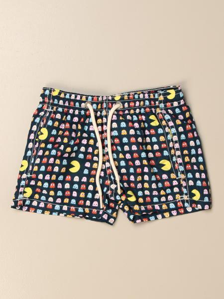MC2 Saint Barth swim shorts in Pac-man patterned nylon