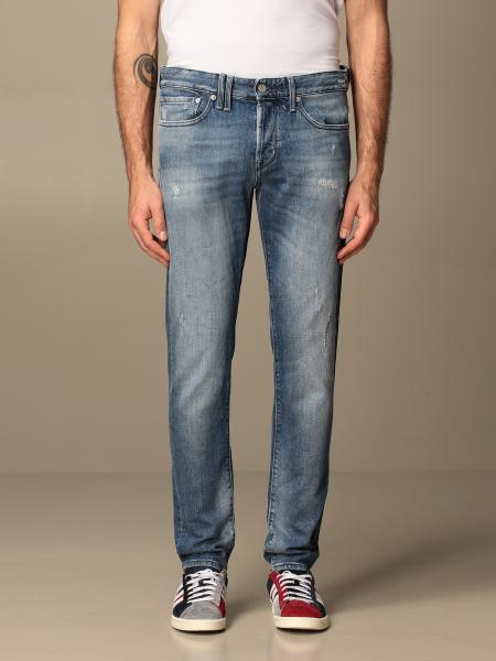 Bone confort denim slim con rotture