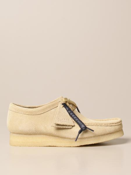 Clarks: Mocassino Wallabee Clarks Originals in suede