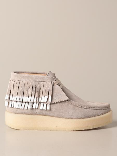 Clarks: Scarpa Ariadne Craft Clarks Originals in suede con frange