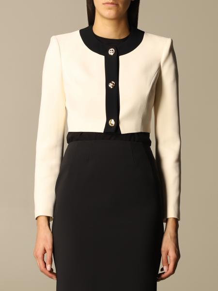 Elisabetta Franchi short jacket with metal buttons