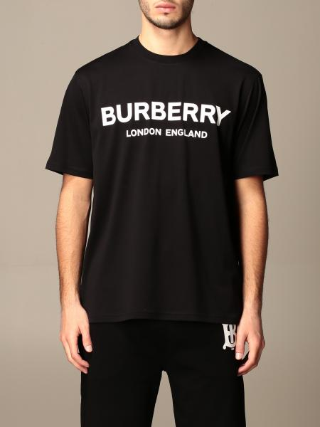Letchford Burberry cotton t-shirt with logo