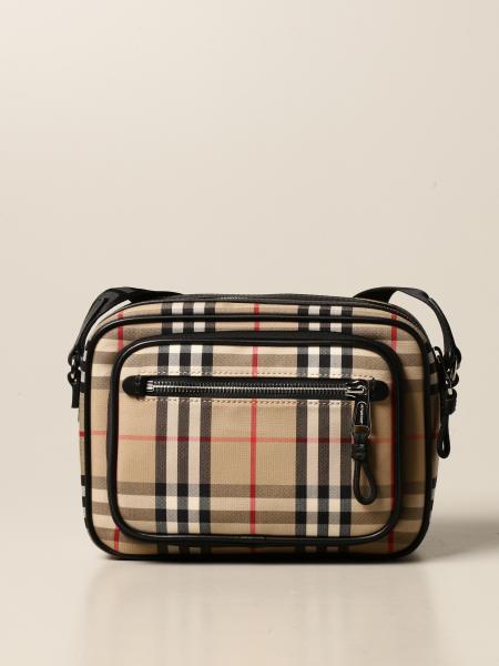 Burberry shoulder bag in vintage check cotton
