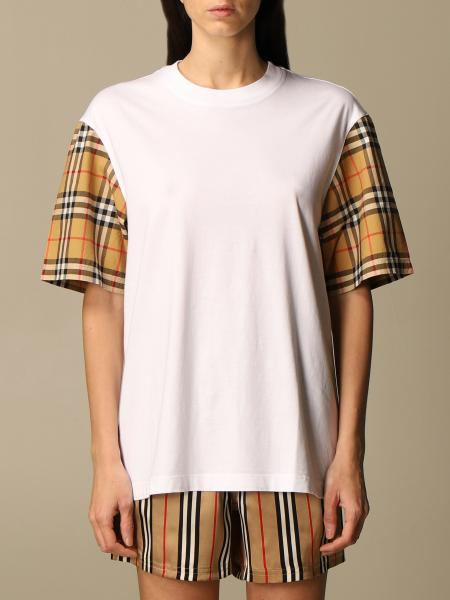 Burberry femme: T-shirt femme Burberry