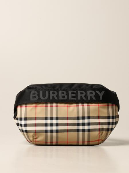 Marsupio Sonny Burberry in tela check