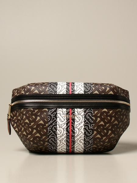Marsupio Bum Burberry in E-canvas con logo