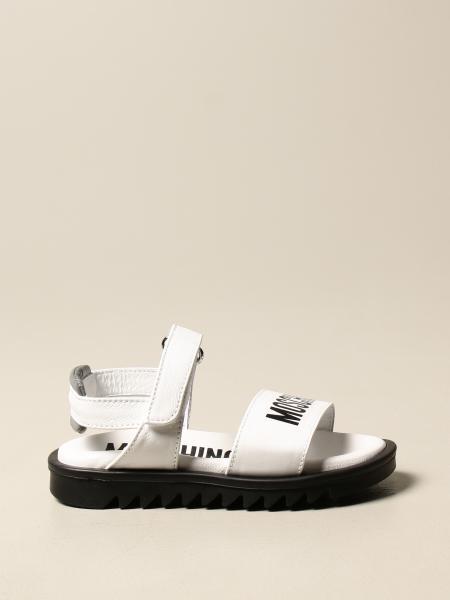 Sandalo Moschino Baby in pelle
